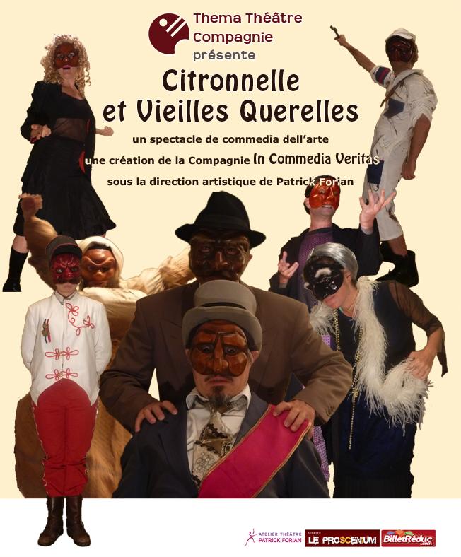Citronnelle et Vieilles Querelles commedia dell arte