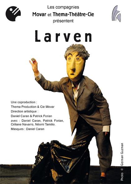 flyer spectacle Larven